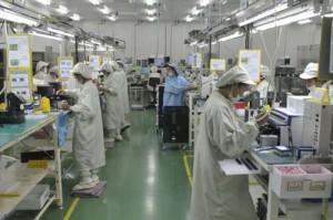 Nikon DSLR Assembly Thailand Factory
