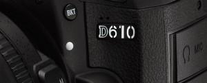Nikon D610 Model Number