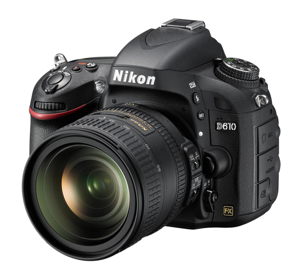 Nikon D610 with 24-85 VR photo front